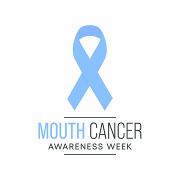 Vector illustration on the theme of Mouth Cancer awareness week observed each year during November.