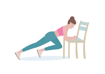 5 Home Workouts You Can Do With a Chair
