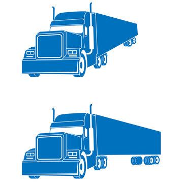 US-Truck, LKW, Transport, Spedition