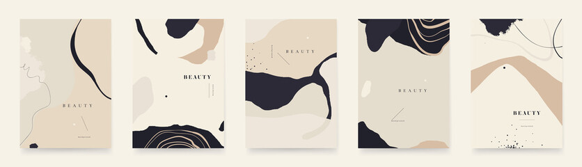 Fototapeta Abstract trendy universal artistic background templates. Good for cover, invitation, banner, placard, brochure, poster, card, flyer and other. obraz
