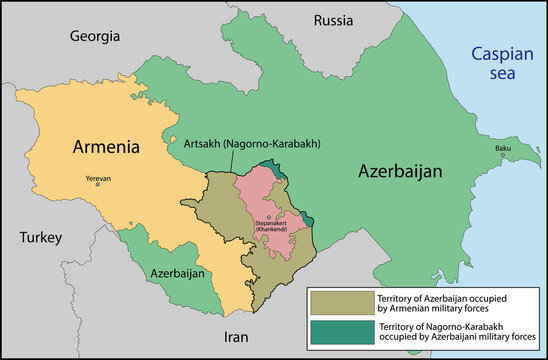 Artsakh or the Republic of Nagorno-Karabakh is a partially recognized country in the South Caucasus