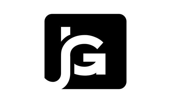 brand JG logo letter