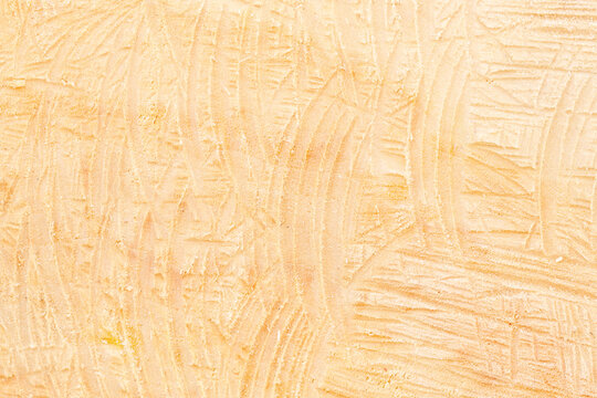 close-up of sawn wood, uneven wood texture background