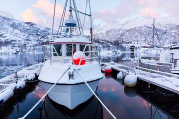 Sildpollen, Lofoten Archipelago, Nordland county, Norway, Arctic Circle, Europe