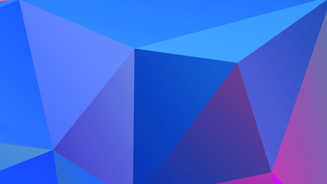 Abstract Color Polygon Background Design, Abstract Geometric Origami Style With Gradient. Presentation, Website, Backdrop, Cover, Banner, Pattern Template