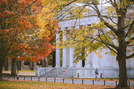 Princeton University, New Jersey in Fall