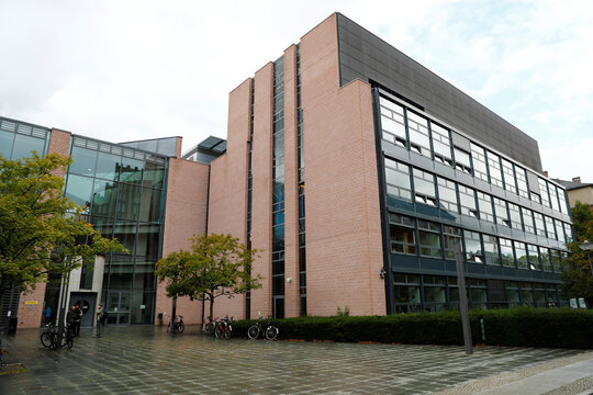 Max Planck Institute for Infection Biology in Berlin where scientist Emmanuelle Charpentier, director of the Institute, has her office and laboratory, is seen