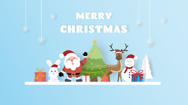 Christmas decoration greeting card template. vector illustration.