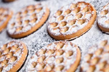 fresh homemade honey cookies