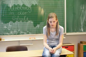 Fototapeta School bullying - horizontal obraz