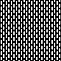 black metal grid seamless pattern
