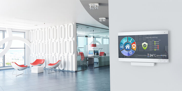 Office work environment automation