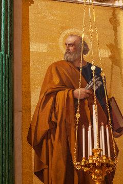 Apostle Peter. Mosaic