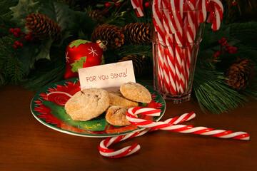 Santa' cookies