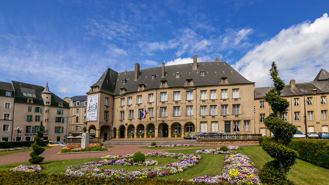 The Town Hall of Thionville France