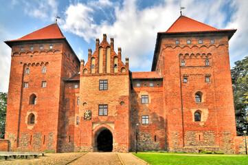 Fototapeta  Zamek w Nidzicy. obraz