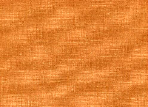 オレンジ色の布のテクスチャ 背景素材