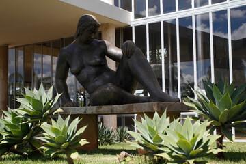 Architectural ensemble. Pampulha Museum of Modern Art in Belo Horizonte - Minas Gerais