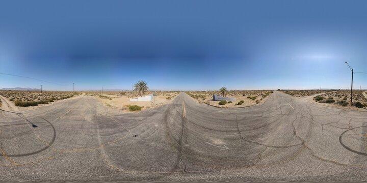 HDRI, desert