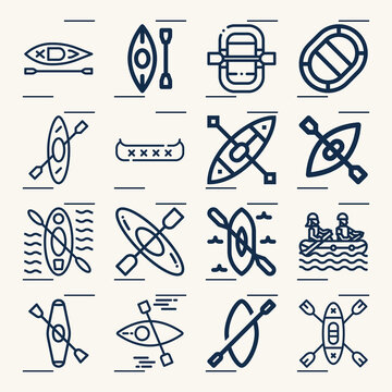 Simple set of william howard related lineal icons.