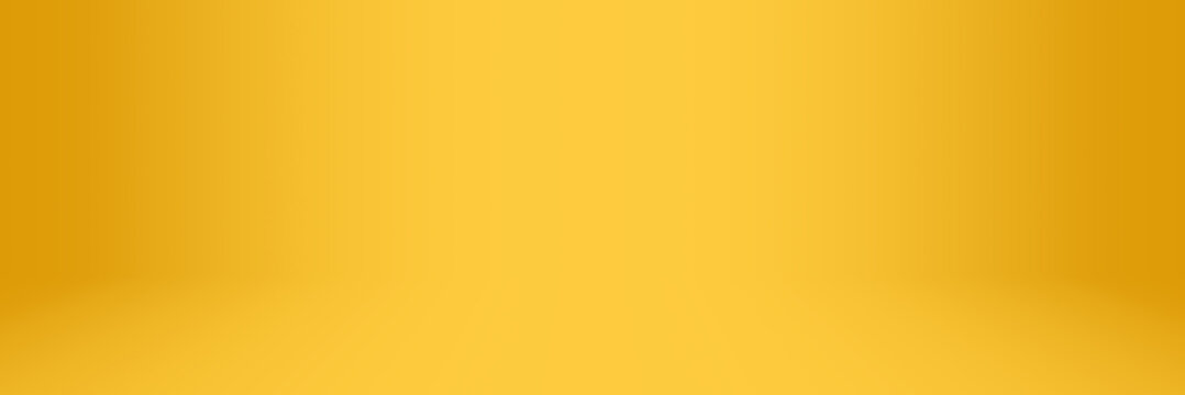 yellow and orange soft gradient abstract studio and showroom backdrop background