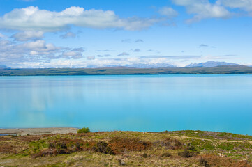 Lake Pukaki in the New Zealand
