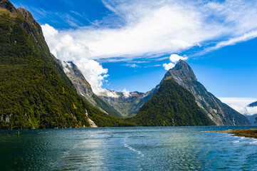 Milford Sound in the New Zealand