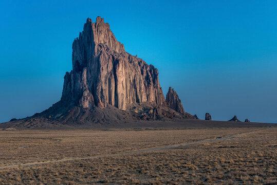 Shiprock New Mexico at Sunrise