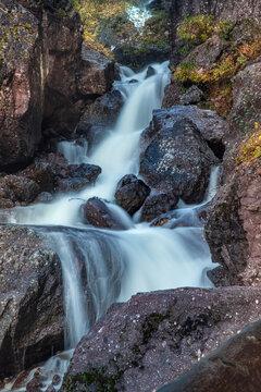Wasserfall im Ilsetal, Harz