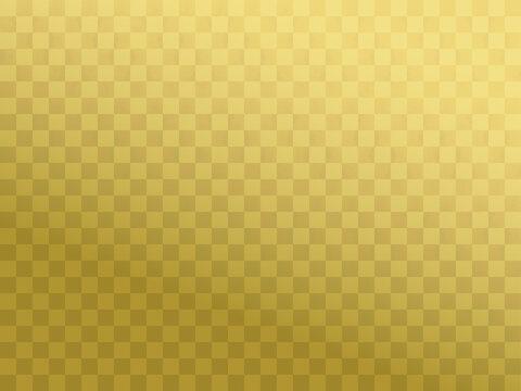 背景素材 市松模様 かすれ風 金色01