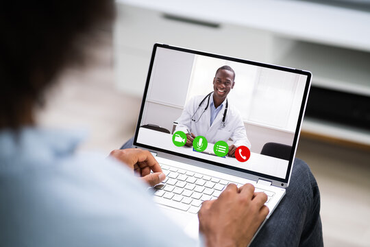 African American Video Call Conference