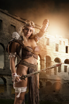 woman gladiator/Ancient warrior
