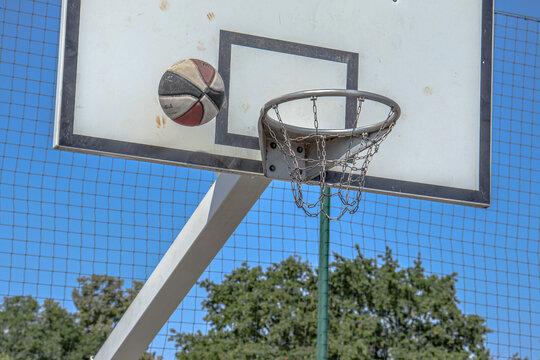 Basket-Ball - Shoot au panier