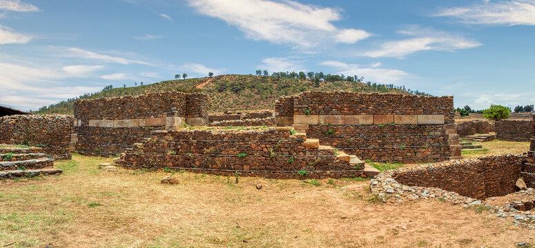 Ruins of Aksum (Axum) civilization, Ethiopia.