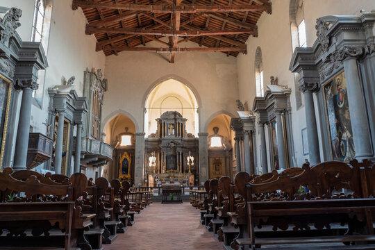 Franziskus Kirche in Cortona Toskana