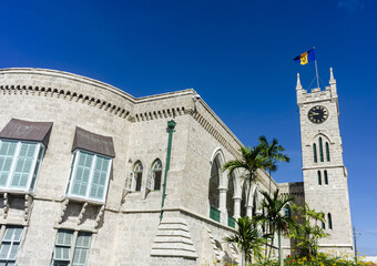 Parliament in Bridgetown in Barbados