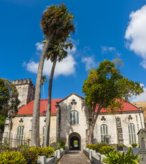 The Cathedral Church in Bridgetown in Barbados