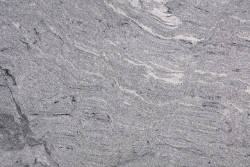 Viscont White Rough - natural polished grey granite stone slab, texture for perfect interior or other design project.