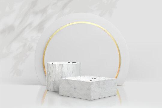 Elegant podium to display products