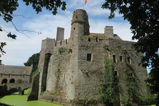 Schloss Pirou, Cotentin Normandie