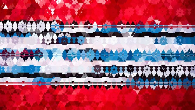 red, blue, white, black  christmas tree camouflage texture
