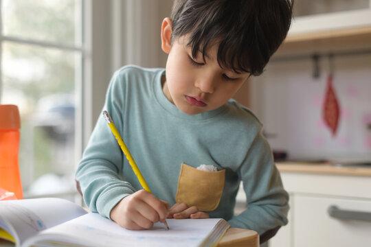 Little kid drawing