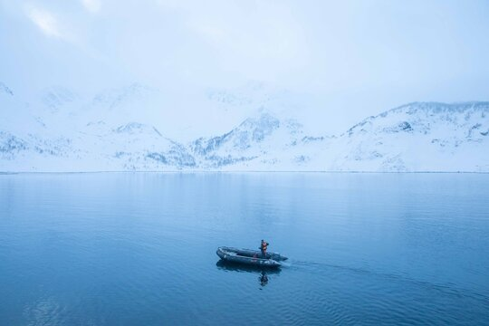 adventure on island of arctic