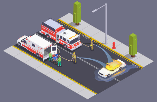 Road Fire Fighting Composition