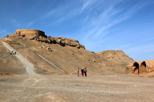 Turm des Schweigens in Yazd
