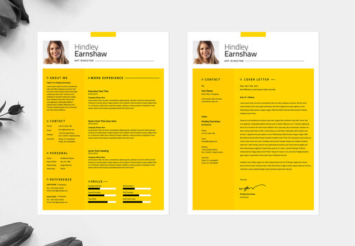 Clean Resume and CV Layout