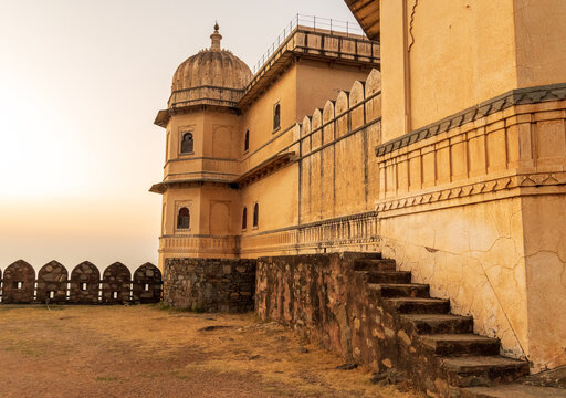 Kumbhalgarh The Unconquered fort of the Mewar Dynasty, Udaipur, Rajasthan, India. High quality photo