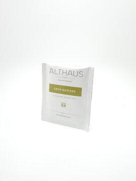 Althaus tea grun matinee flavored green tea in Manila, Philippines