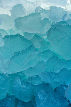 Colourful Abstract Ice Forms