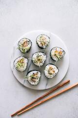Vegan maki sushi